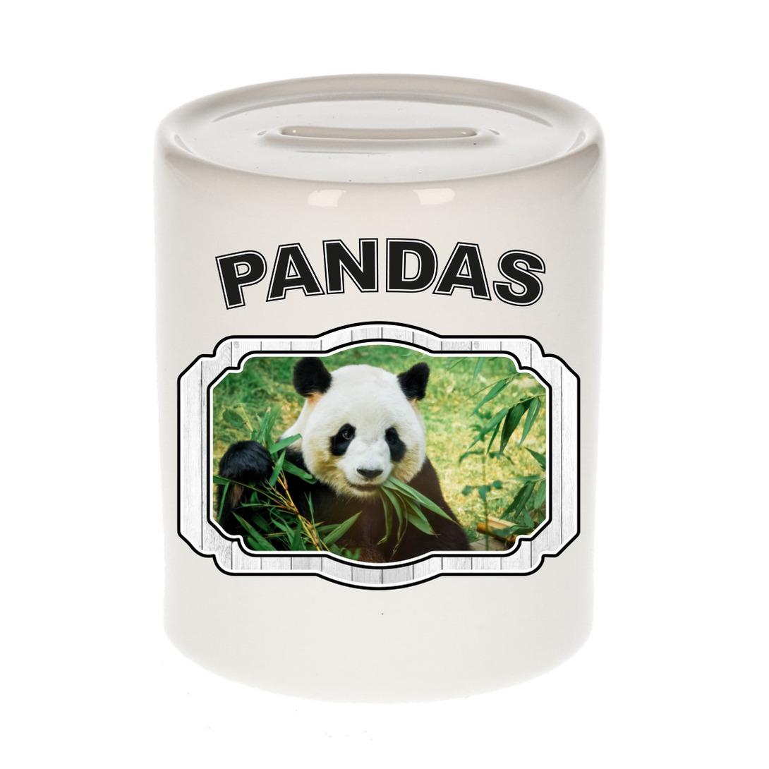 Dieren liefhebber panda spaarpot - pandaberen cadeau