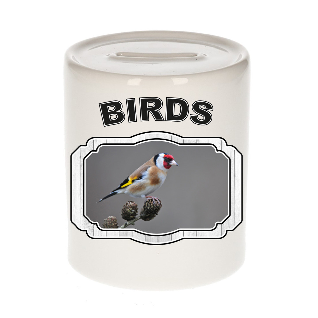 Dieren liefhebber putter vogel spaarpot - vogels cadeau