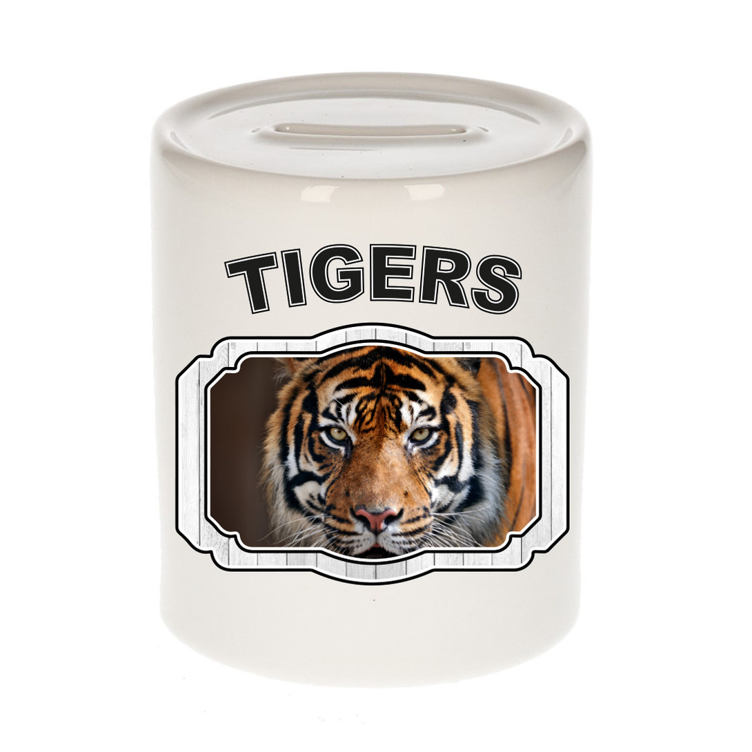 Dieren liefhebber tijger spaarpot - tijgers cadeau