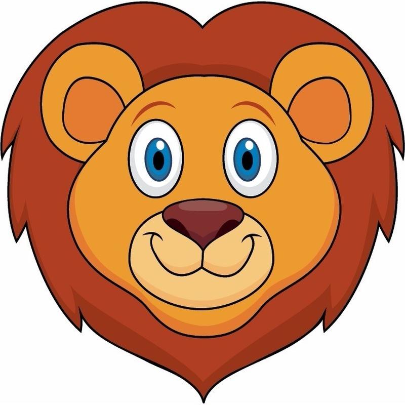 Dieren masker leeuw voor kids