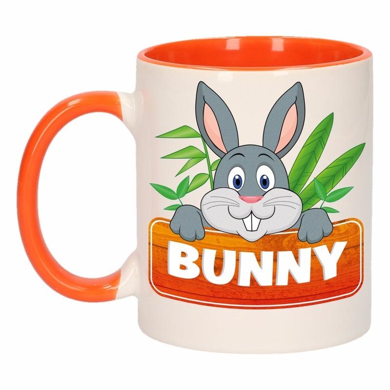 Dieren mok /konijnen beker Bunny 300 ml