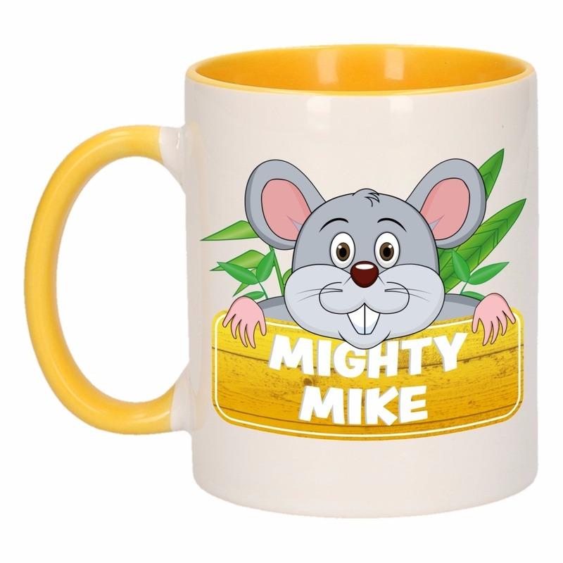 Dieren mok /muizen beker Mighty Mike 300 ml