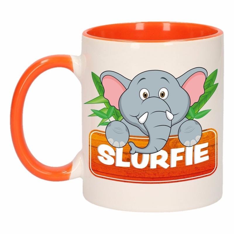 Dieren mok /olifanten beker Slurfie 300 ml