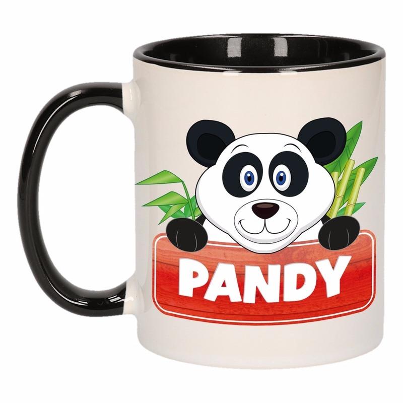 Dieren mok /pandabeer beker Pandy 300 ml