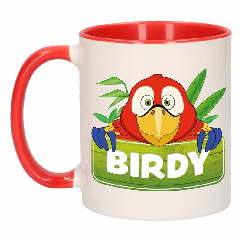 Dieren mok /papegaaien beker Birdy 300 ml