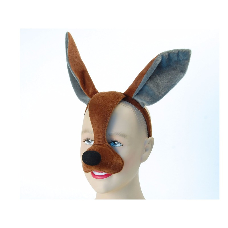 Dierenmasker kangoeroe