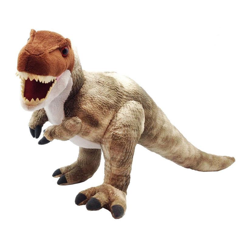Dino t-rex knuffeldier 38 cm pluche