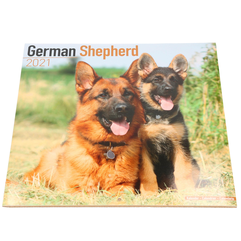 Afbeelding Duitse Herdershond 2021 dieren wandkalender door Animals Giftshop