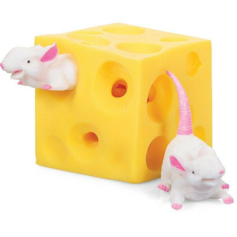Feestartikelen stretch muis en kaas