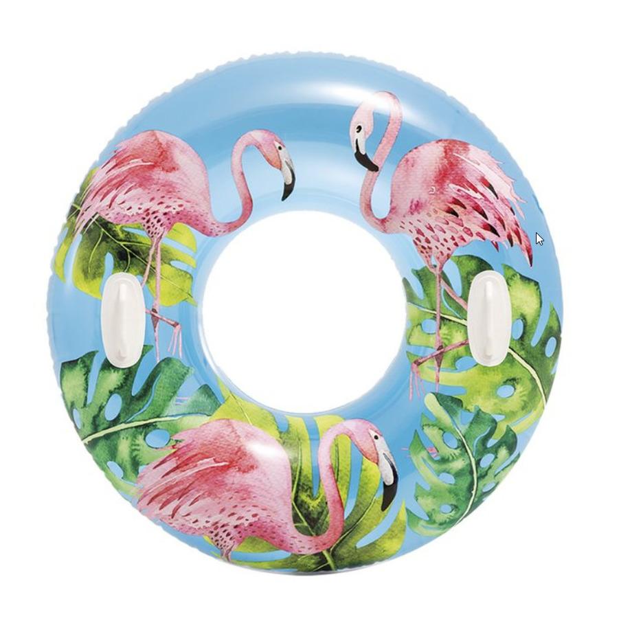 Flamingos Intex zwemband 97 cm