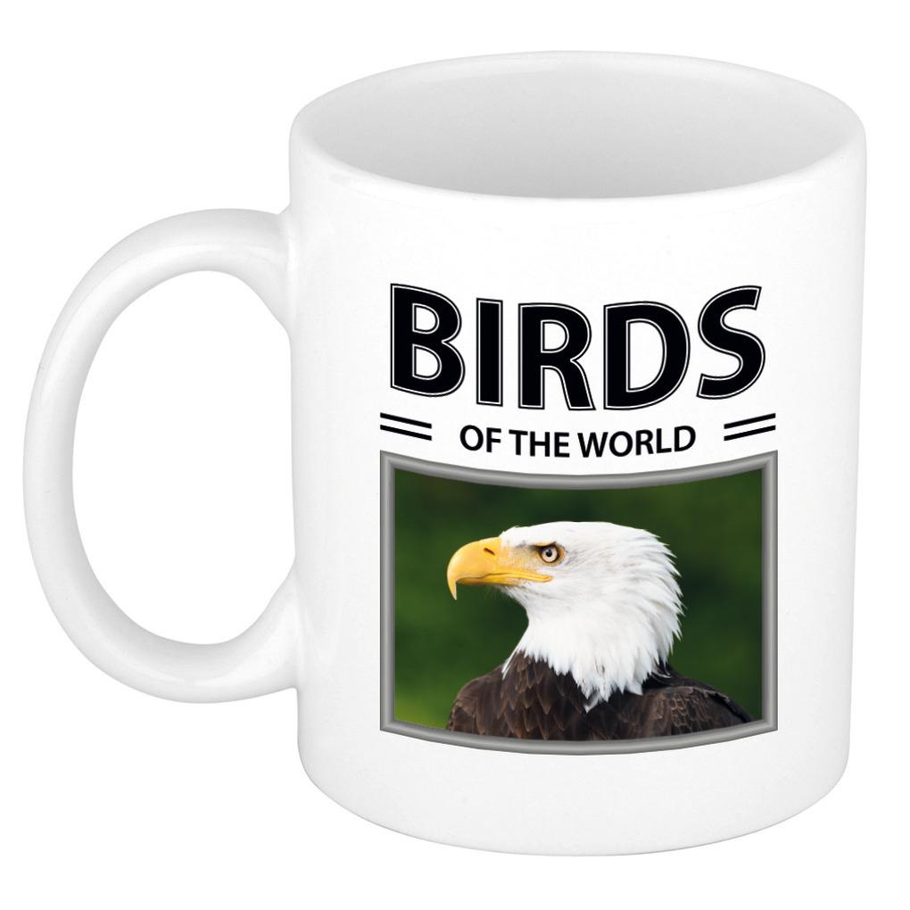 Foto mok Amerikaanse zeearend beker - birds of the world cadeau Amerikaanse zeearenden liefhebber