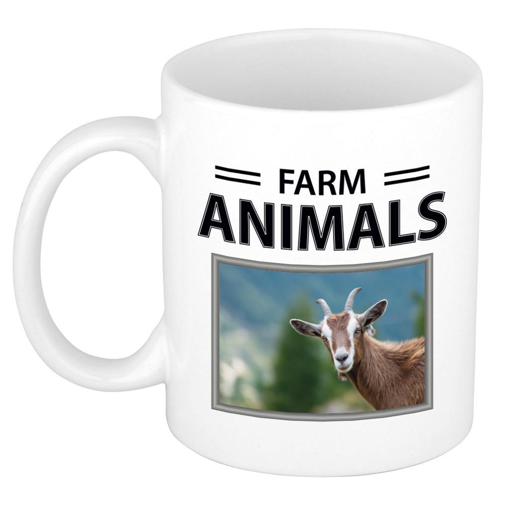 Foto mok Geit beker - farm animals cadeau Geiten liefhebber