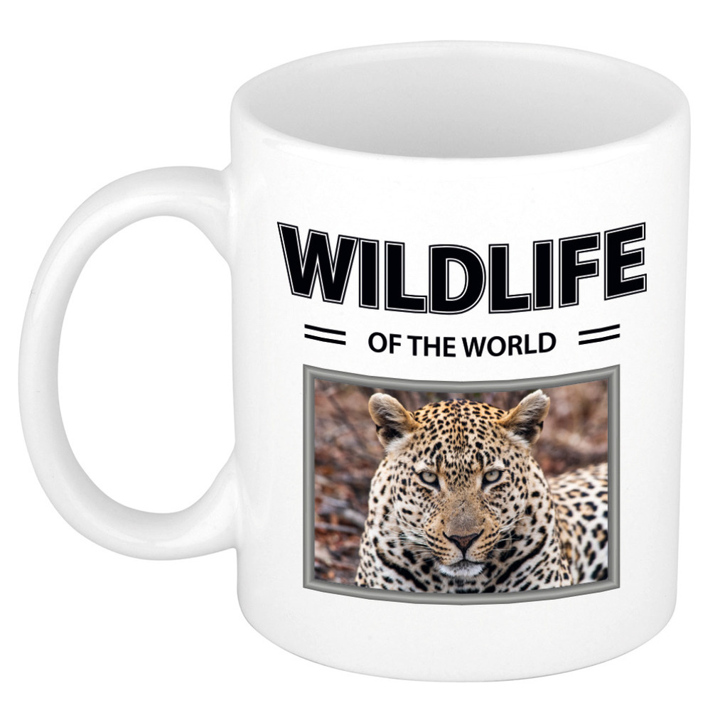 Foto mok Jaguar mok - beker - wildlife of the world cadeau Jaguars liefhebber