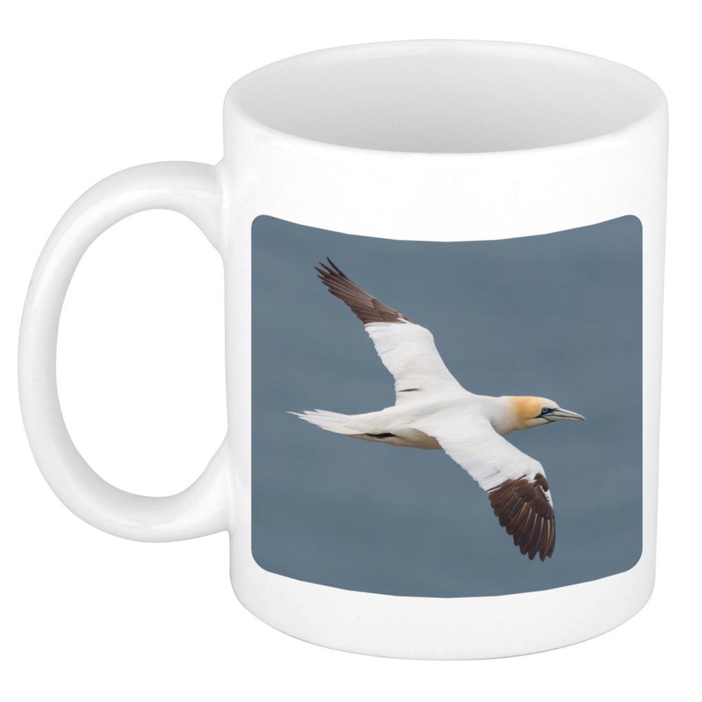 Foto mok jan van gent vogel mok - beker 300 ml - Cadeau vogels liefhebber