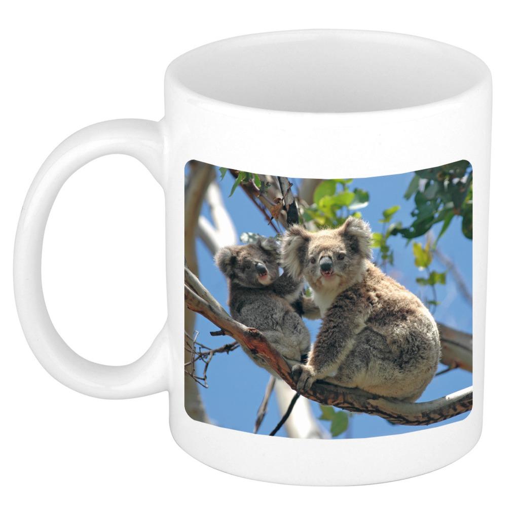 Foto mok koala beer mok - beker 300 ml - Cadeau koalaberen liefhebber