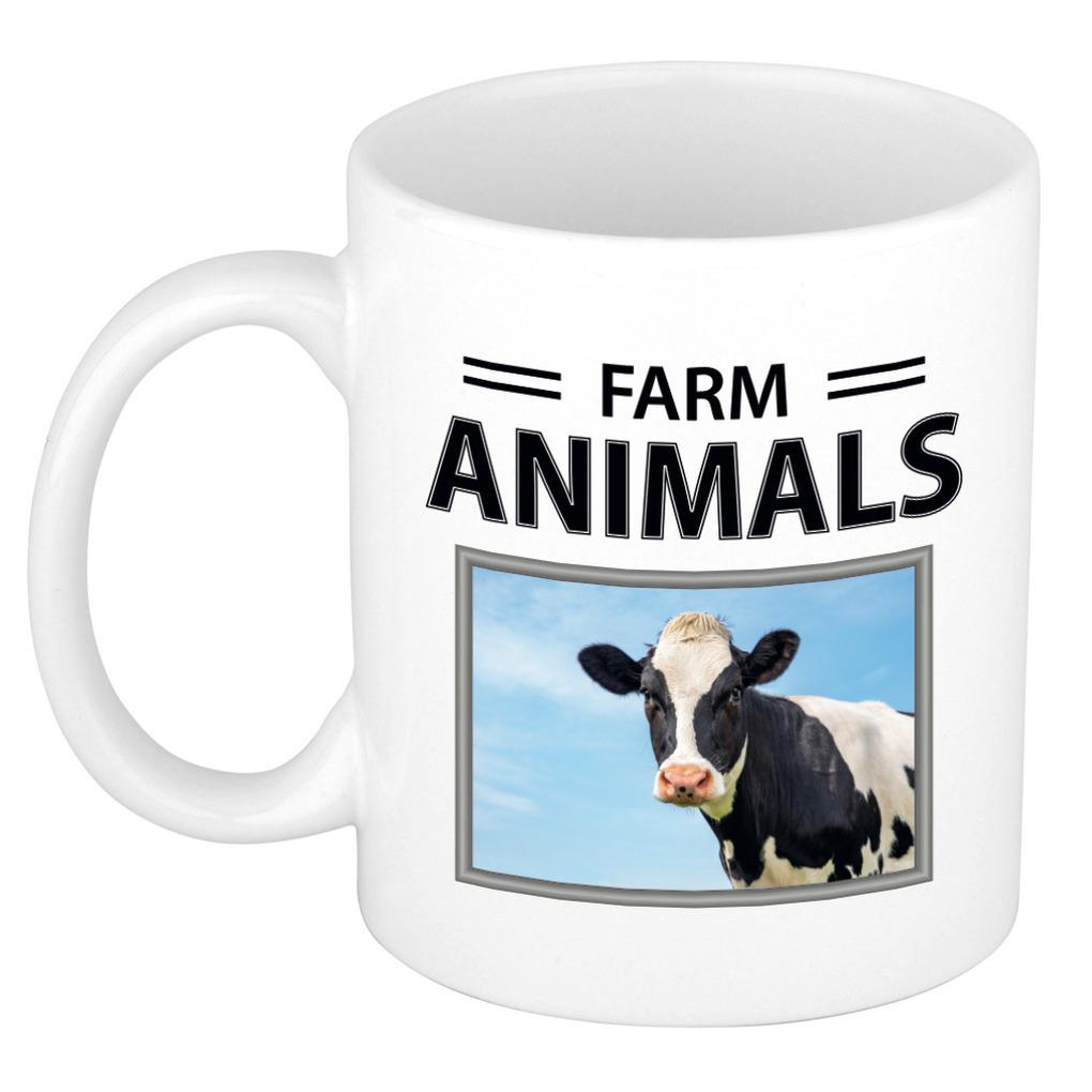 Foto mok Koe beker - farm animals cadeau Koeien liefhebber