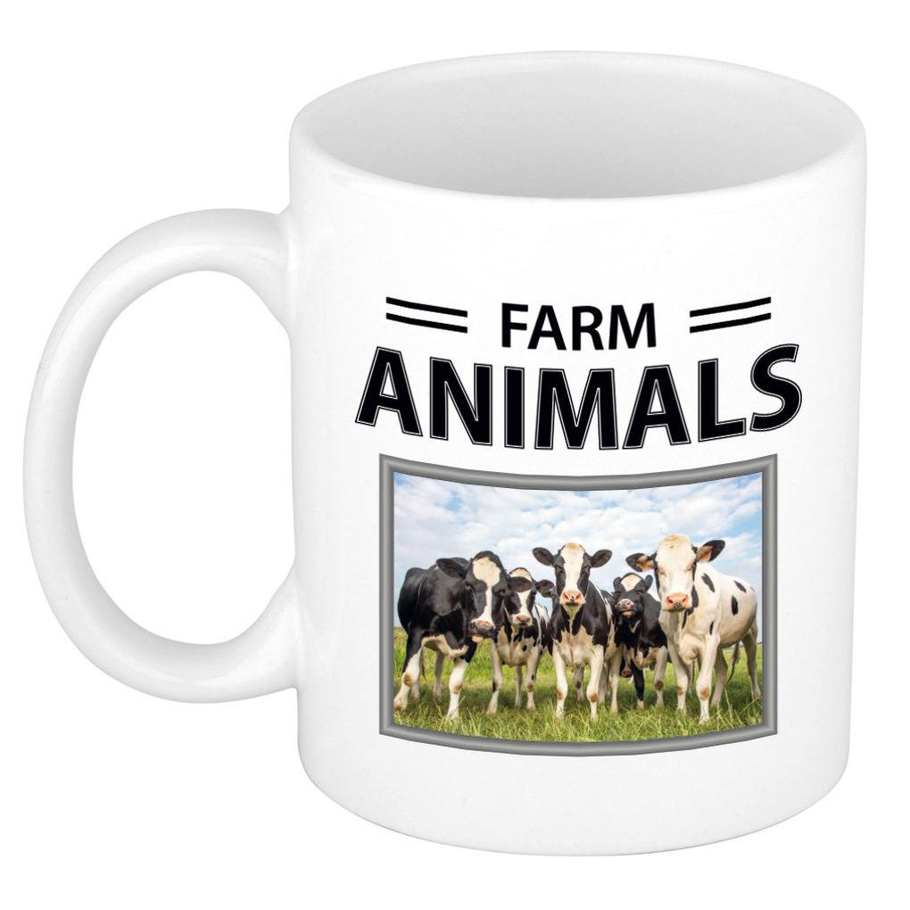 Foto mok Koe beker - farm animals cadeau Kudde koeien liefhebber