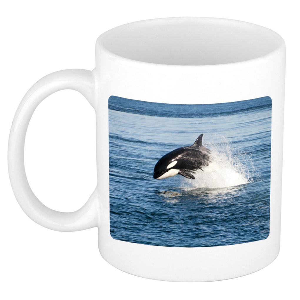 Foto mok orka mok / beker 300 ml - Cadeau orka vissen liefhebber