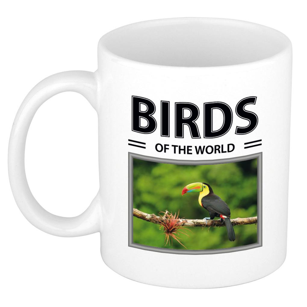 Foto mok Toekan beker - birds of the world cadeau Toekans liefhebber