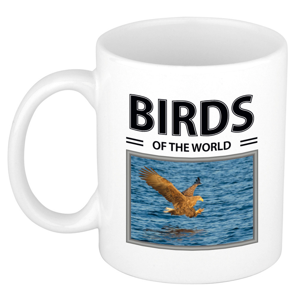 Foto mok Zeearend beker - birds of the world cadeau Zeearenden liefhebber