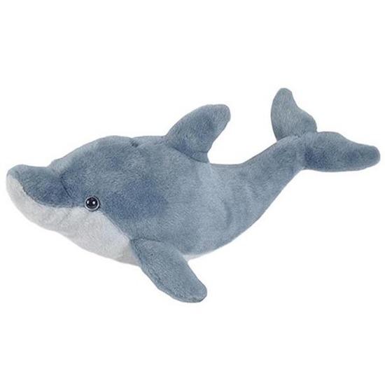 Afbeelding Grijze dolfijnen knuffels 60 x 28 cm knuffeldieren door Animals Giftshop