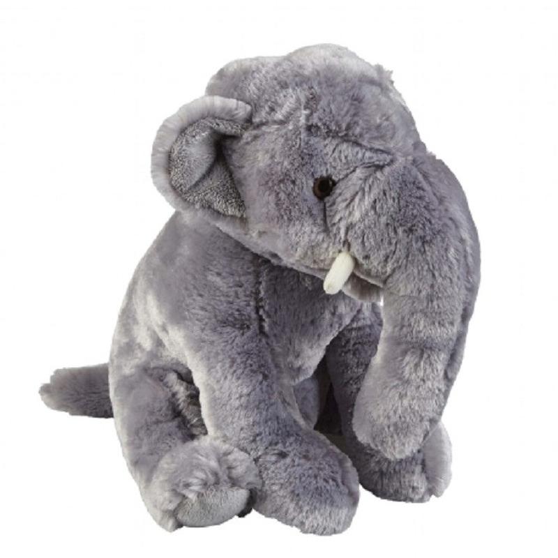 Grijze olifant knuffel 30 cm knuffeldieren