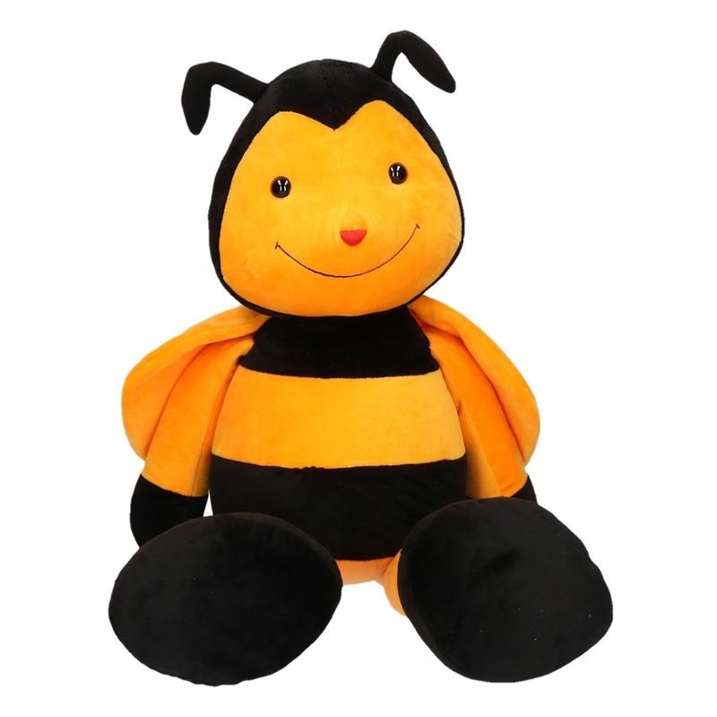 Grote bijen knuffel 65 cm