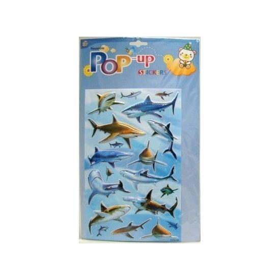 Haaien plakplaatjes 3D