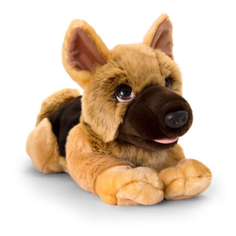 Herdershond honden knuffeldier 37 cm