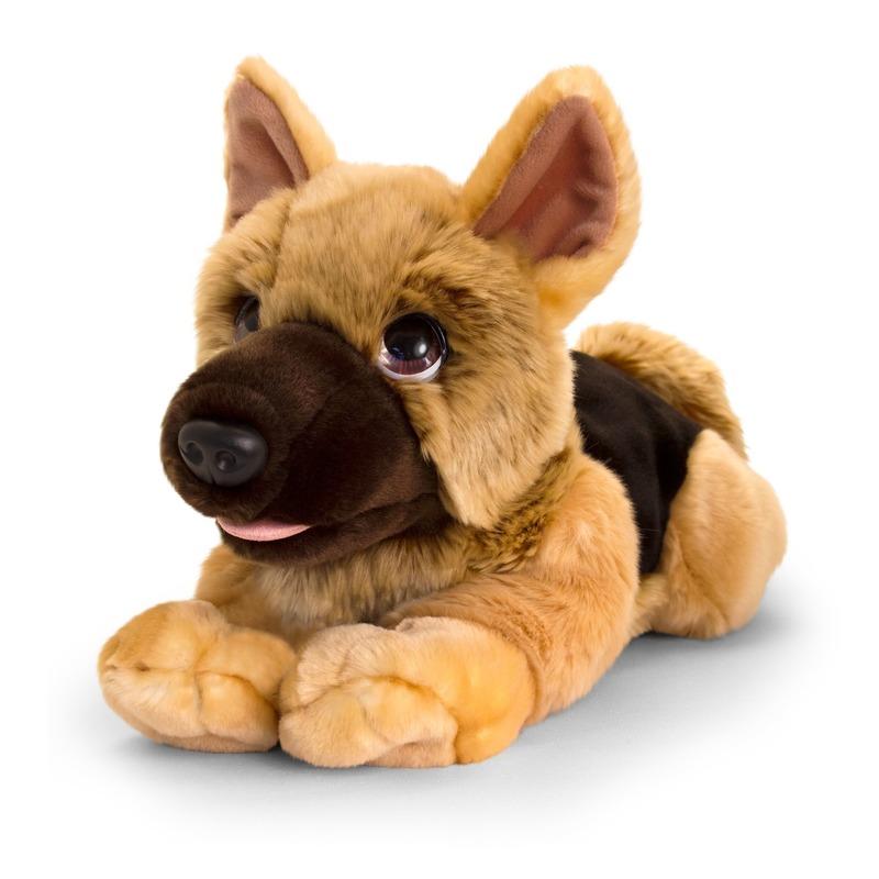 Herdershond honden knuffeldier groot 47 cm