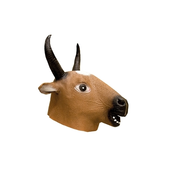 Herten dierenkop masker