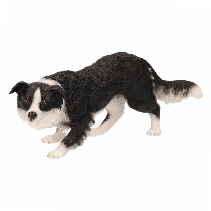 Honden beeldje Border Collie 17 cm
