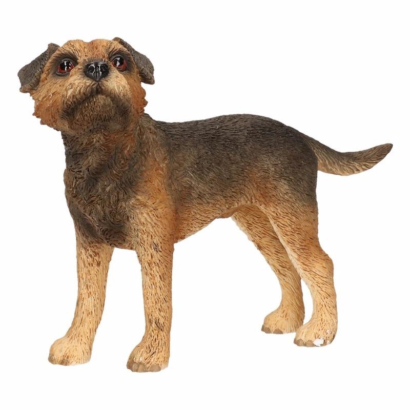 Honden beeldje Border Terrier 11 cm