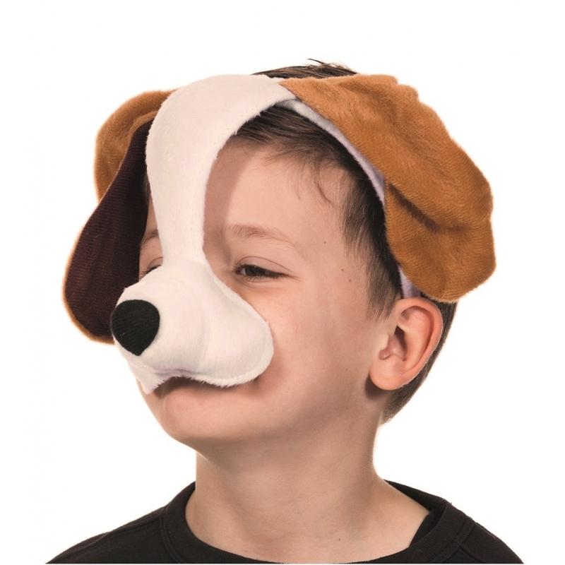 Honden masker met geluid