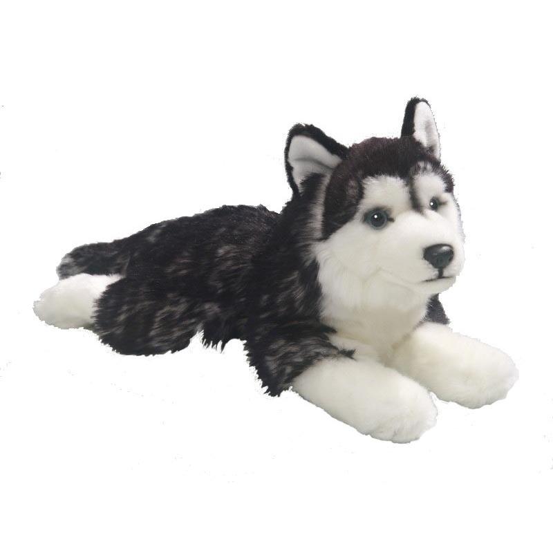Husky hond knuffeldier 32 cm