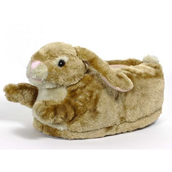 Kinder dieren pantoffels konijn