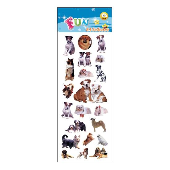 Kinder honden stickers