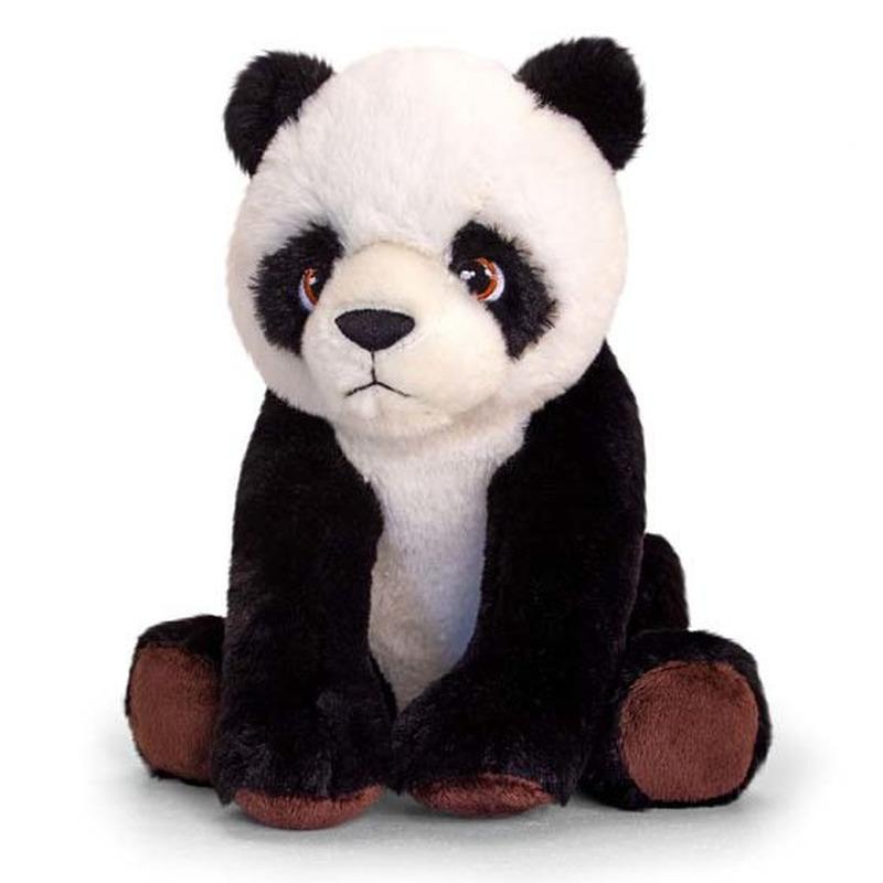 Kinder knuffels panda beer van 25 cm