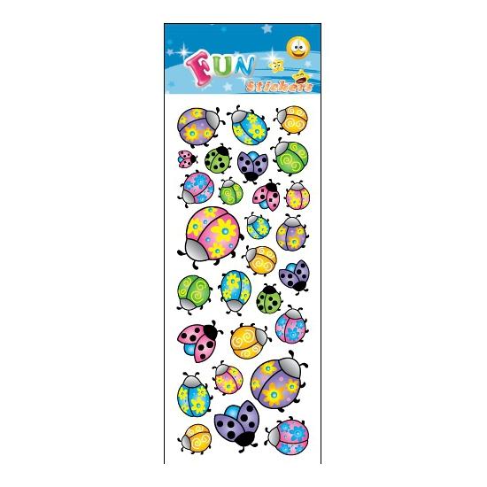 Kinder lieveheersbeestje stickers