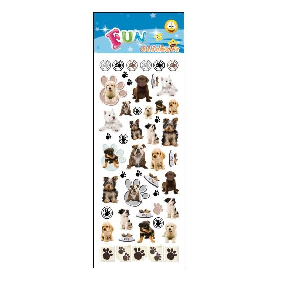 Kinder stickers honden