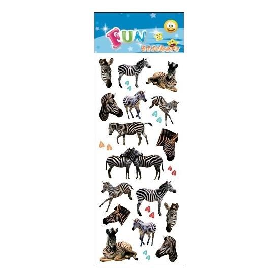 Kinder stickers zebra