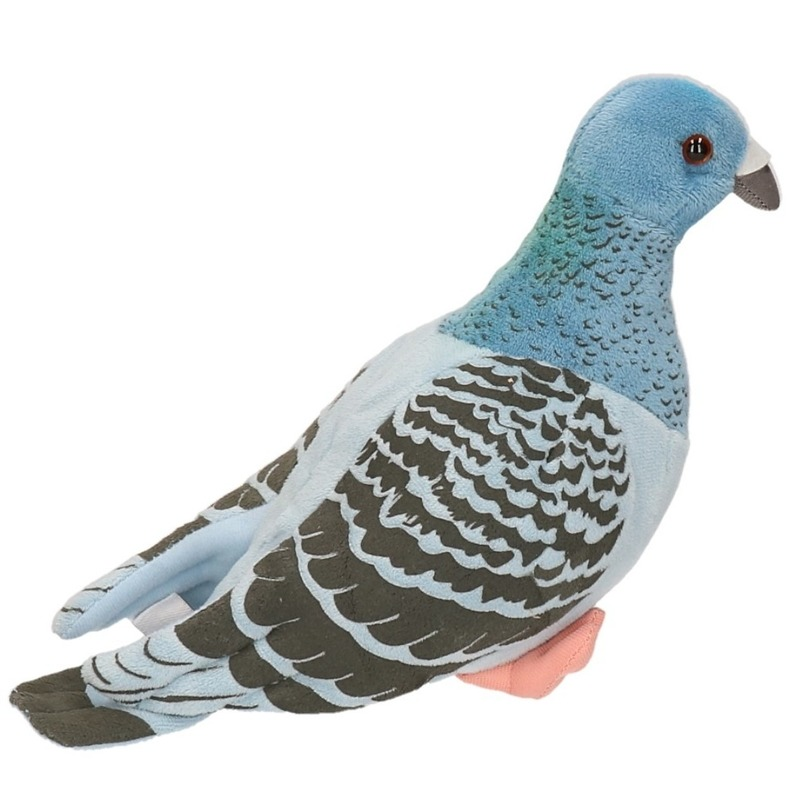 Knuffel duif 24 cm