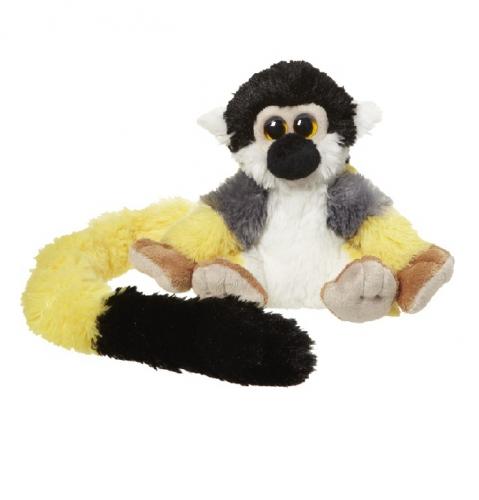 Knuffel gele eekhoorn aap