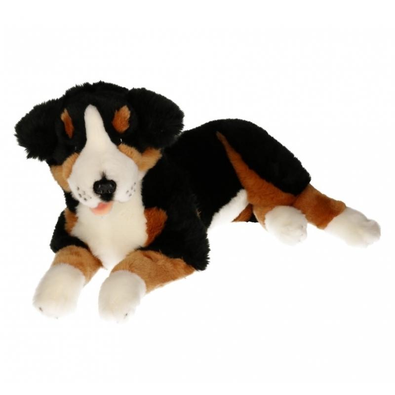 Knuffel hond Berner Sennen 42 cm