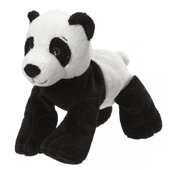 Knuffel pandabeer van 22 cm