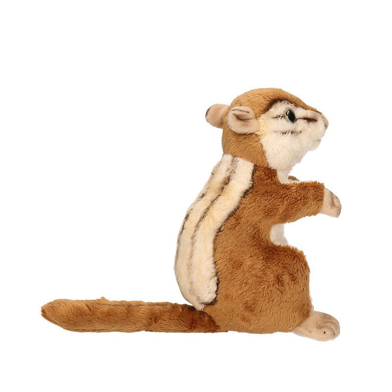 Knuffel wangzak eekhoorn 17 cm