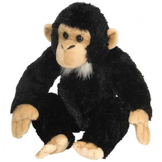 Knuffeldier chimpansee 30 cm
