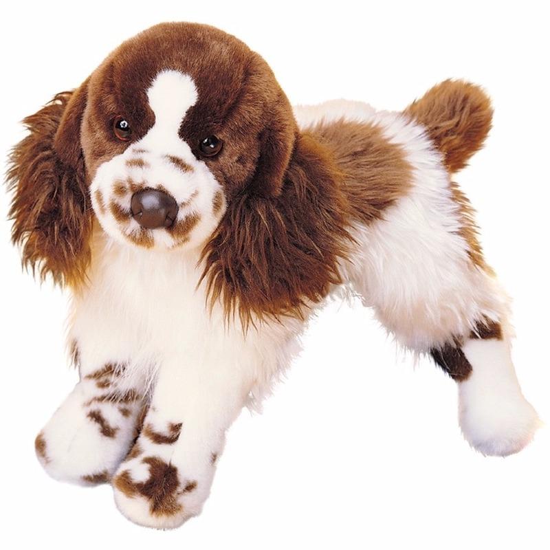 Knuffeldier hond Springer Spaniel 41 cm