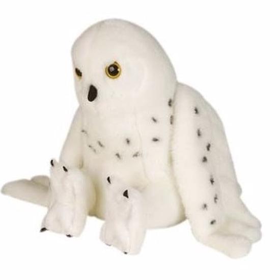 Knuffeldier sneeuwuil 30 cm