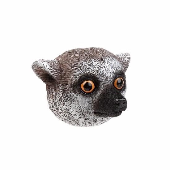 Koelkast magneet 3D maki aap 8cm